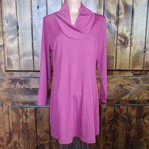 Lole deep pink tunic